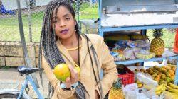Colombiana de tetas grandes naturales Ana Ebano recogida y follada – CARNE DEL MERCADO