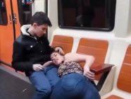 Cachondeo,sexo y…Arrasando Madrid con Lucia en una de calles vacias. El video del que todos volveran a hablar