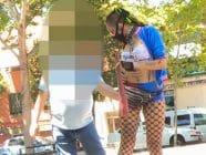 Soy Harley Quinn y ME METO UN BATE EN EL COÑO… ¿Quieres follarme? ji ji ji, una mañana en la calle da para mucho zorrerio ;)