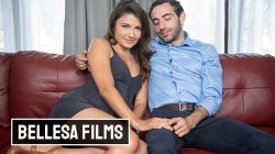 Bellesa – Adria Rae she can Finally Jump her old College Friend Jake Adams